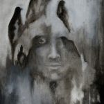Oil Painting Gathering of Shadows £275